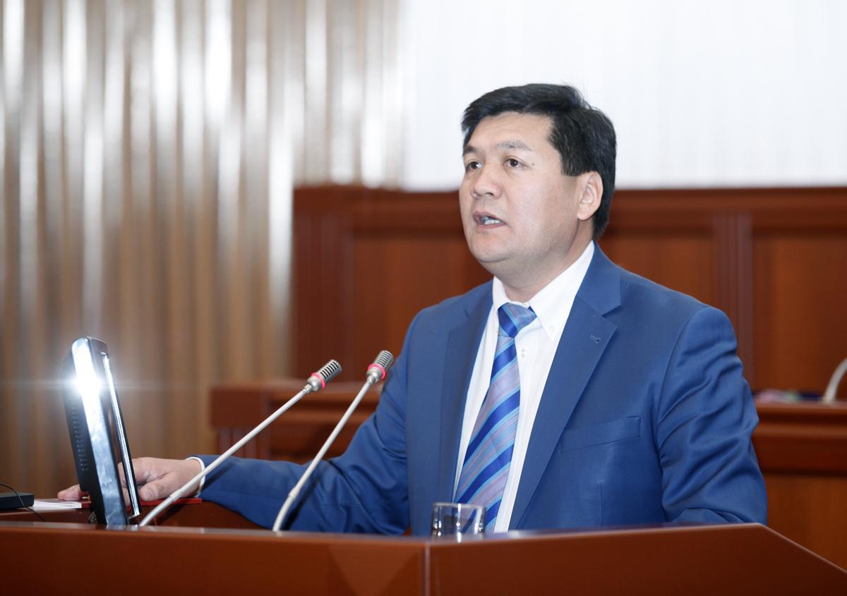 Омбудсмен Кубатбек Оторбаев
