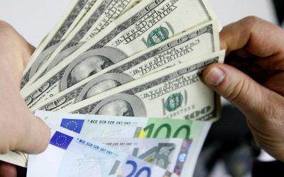Официальный курс сомони по отношению к доллару упал январе-июне на 10,66%