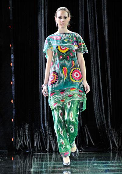 Узбекские Платье Купить В