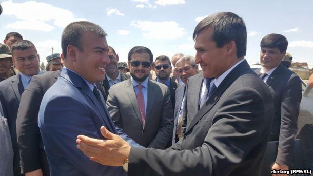 МИД Туркменистана и губернатор провинции Фарьяб
