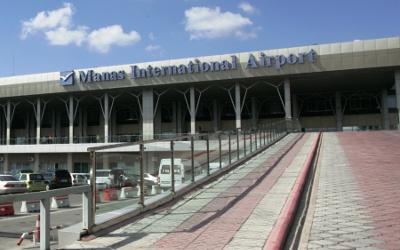 MAnas Airport