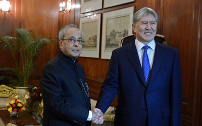 Kyrgyz-Indian ties