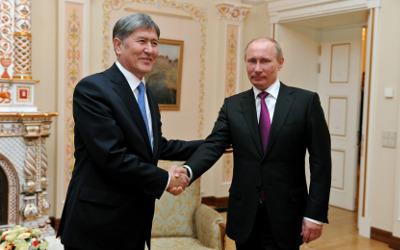 Putin+Atambayev