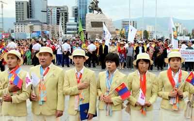 Team Mongolia to wear yellow