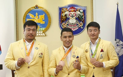 Mongolian olympians
