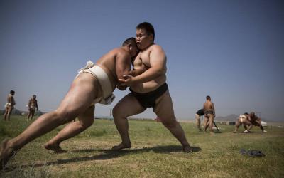 mongolian sumo