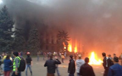 Odessa blaze