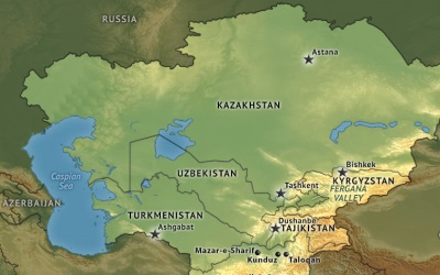 Central_Asia Locator