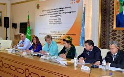 UNFPA in Turkmen