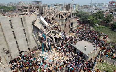 Rana Plaza in Bangladesh