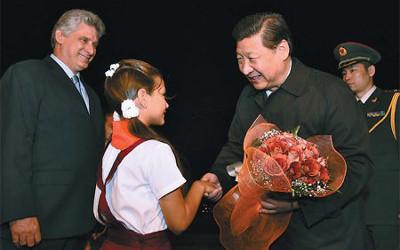 Xi in Cuba