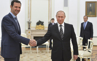 Syrian President Assad meets Putin in Moscow