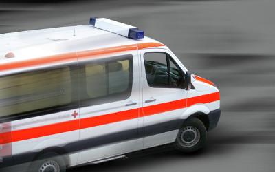 ambulance in rush