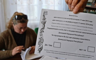 referendum in Luhansk