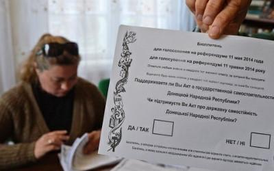 referendum in Luhansk
