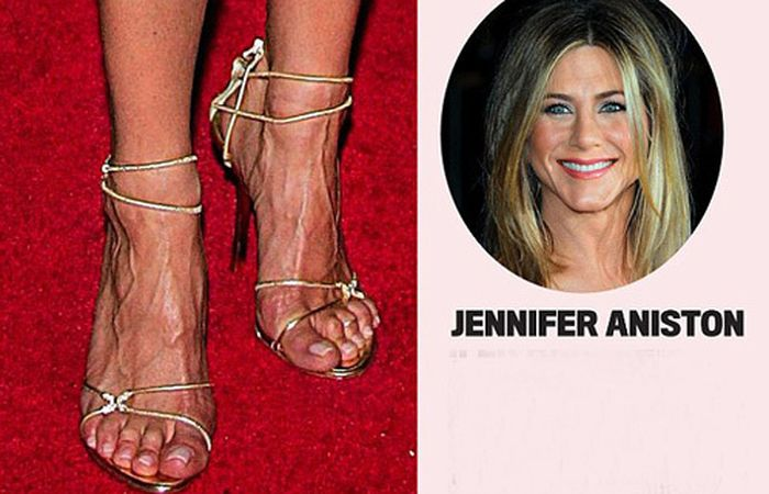 ножки знаменитых актрис
