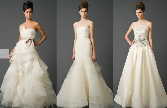 Дизайнер вера вонг свадебные платья