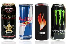 энергетические напитки Red Bull.