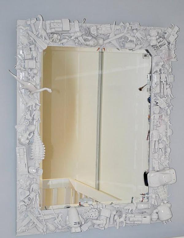 Зеркала в обрамлении своими руками