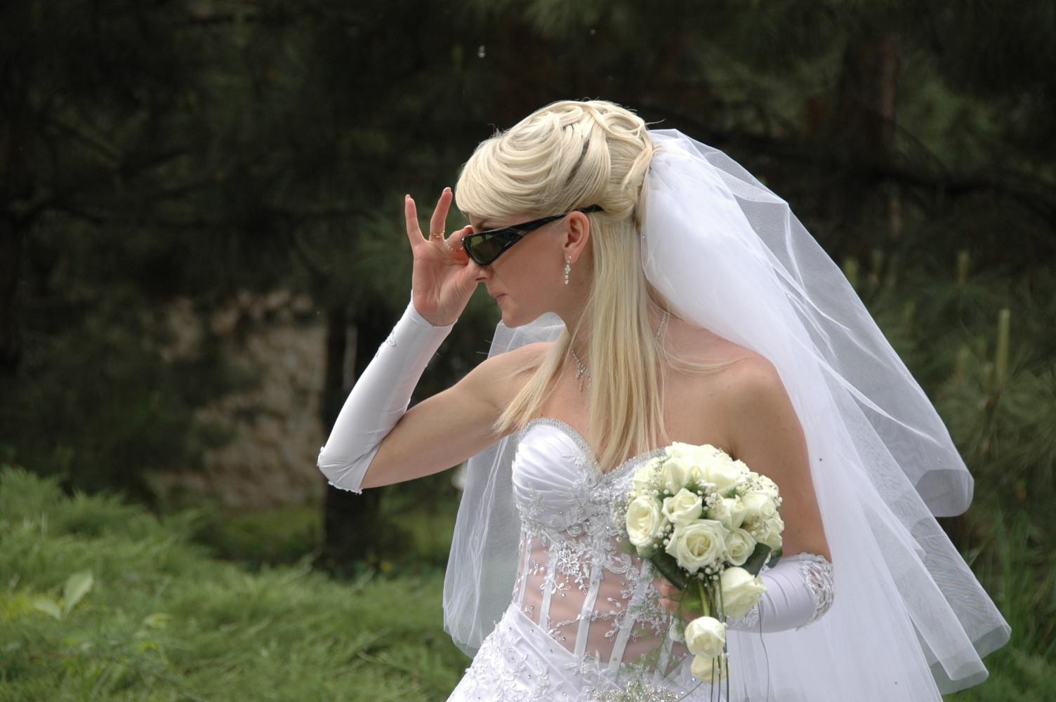 Самые ужасные свадебные платья 3