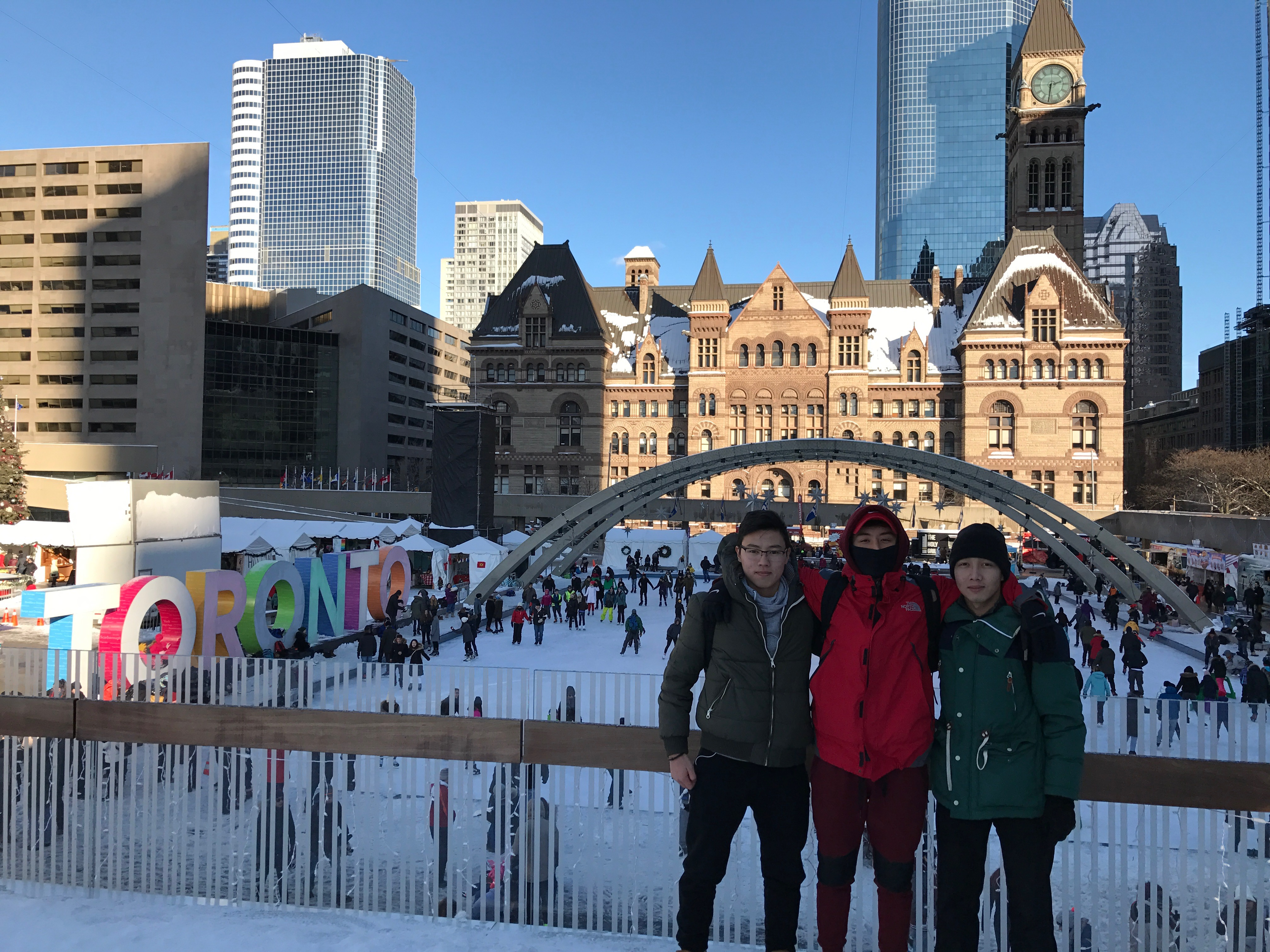 С друзьями в Канаде