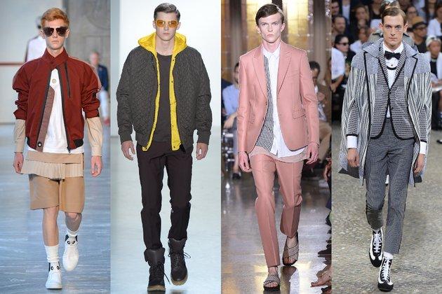 В Лондонских модных показах господствовал преимущественно белый цвет, что упрочило его позицию в весенних коллекциях. Белые туфли, костюмы и пальто создают