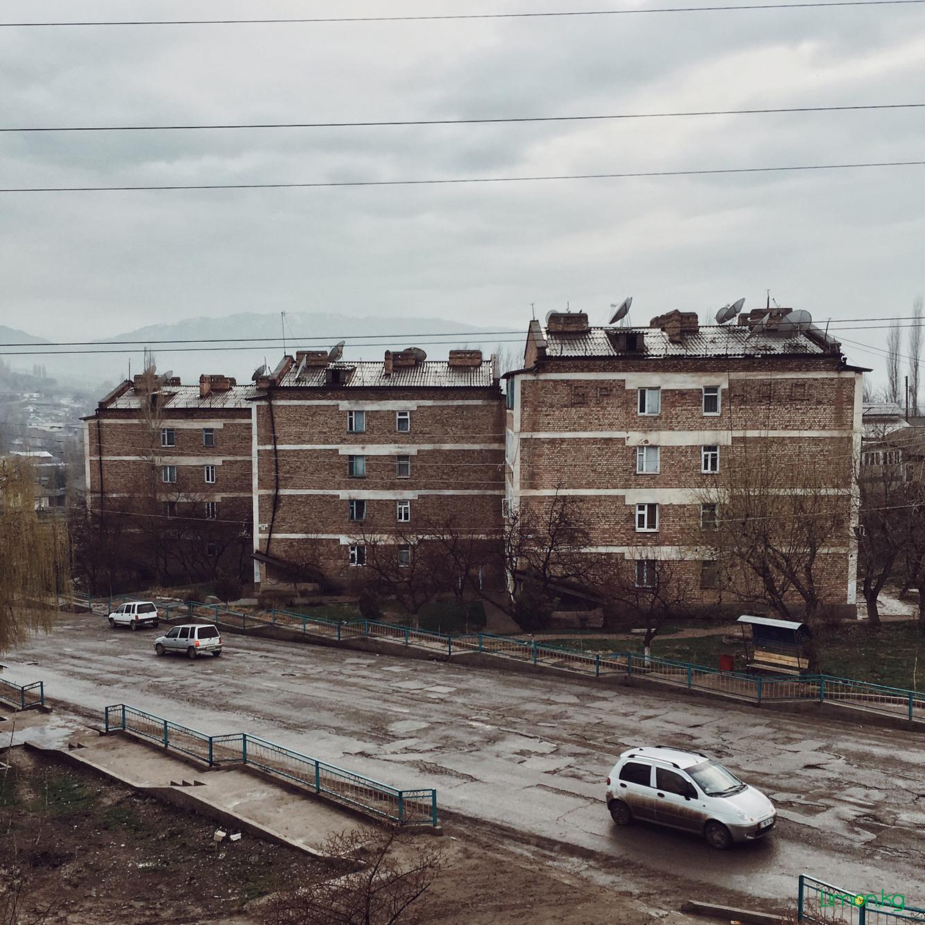 город Кызыл - Кыя