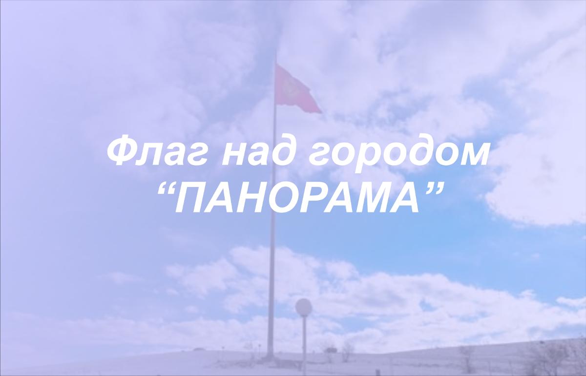 ФЛАГ НАД ГОРОДОМ