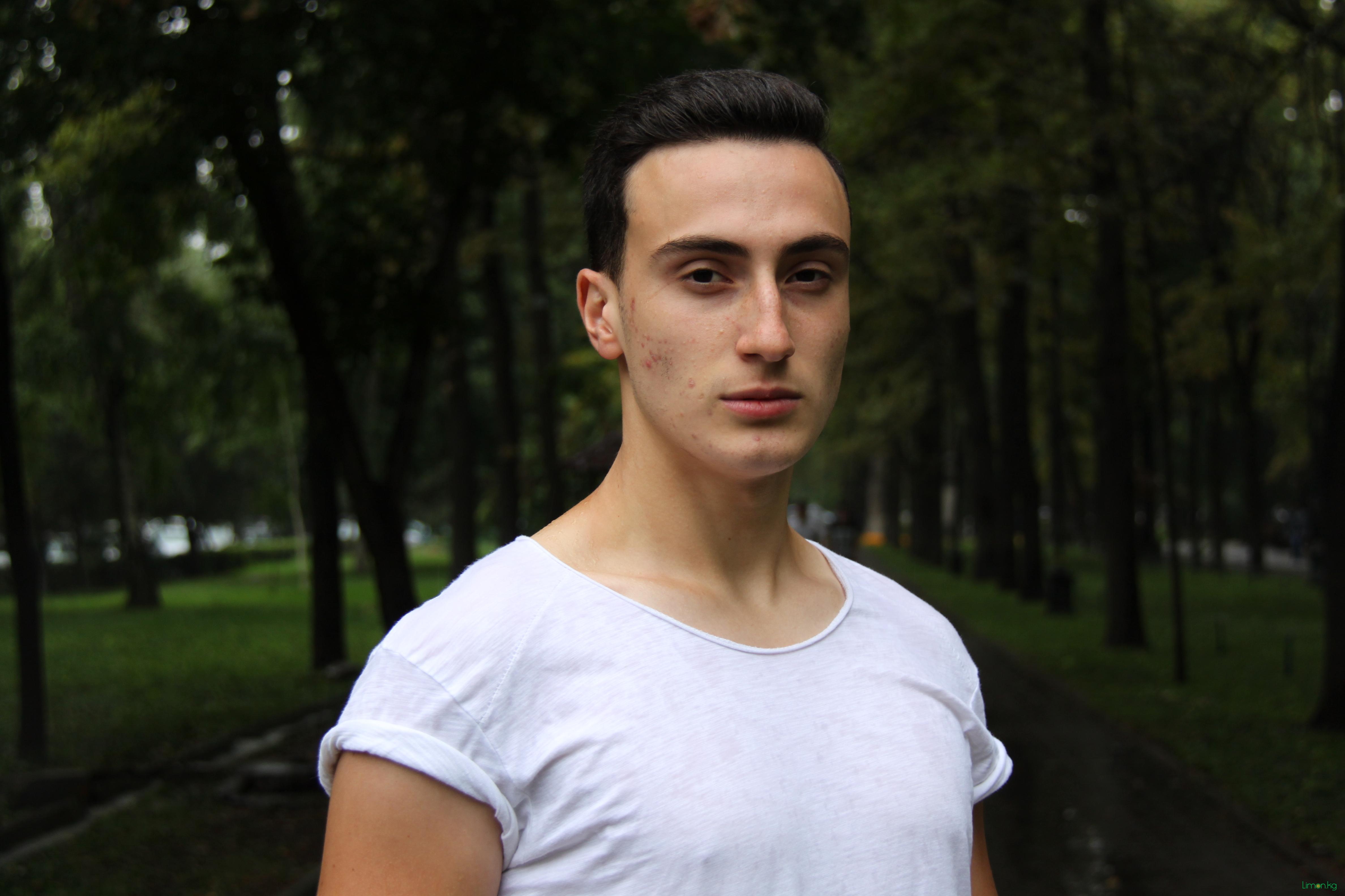 Карим Зайцев, 19 лет, студент, модель