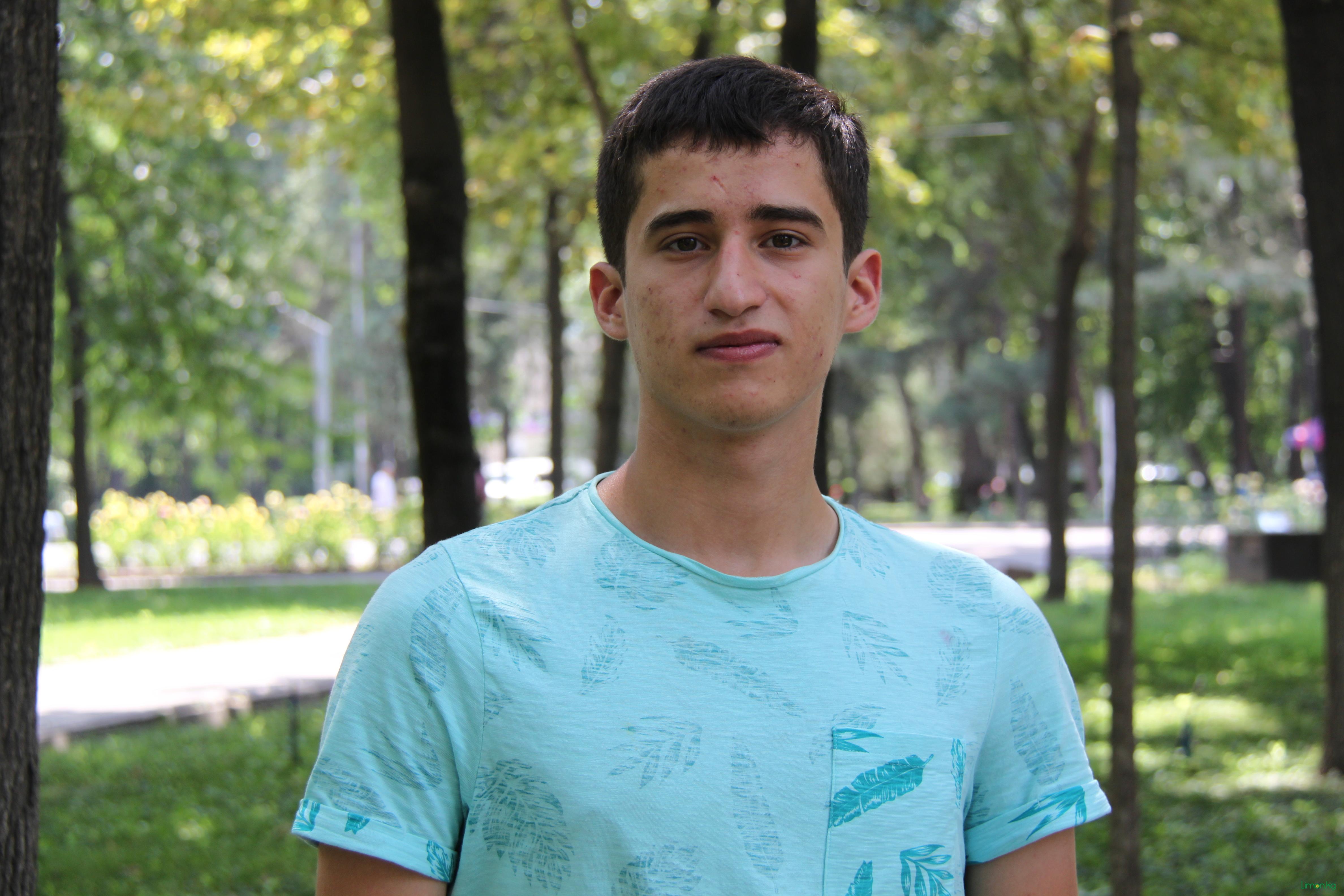 Орхан Новрузов, 18 лет, студент