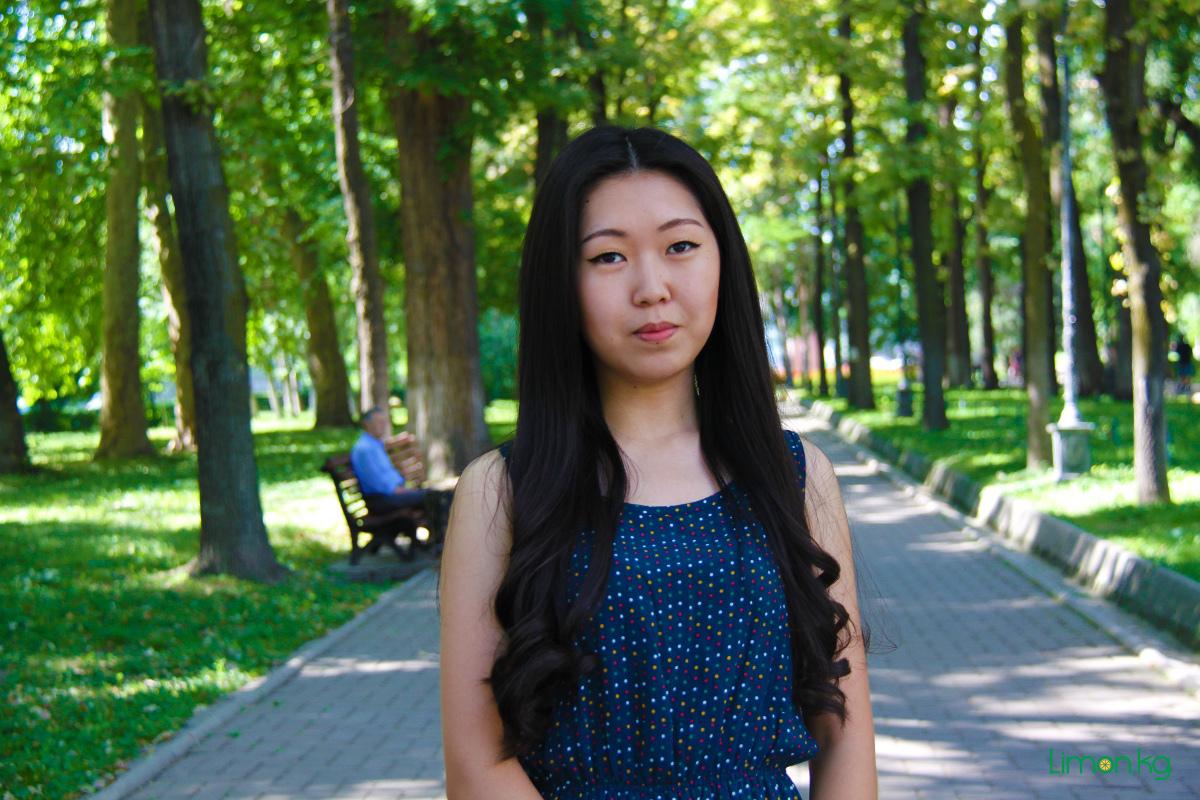 Инна Пак, 20, студентка