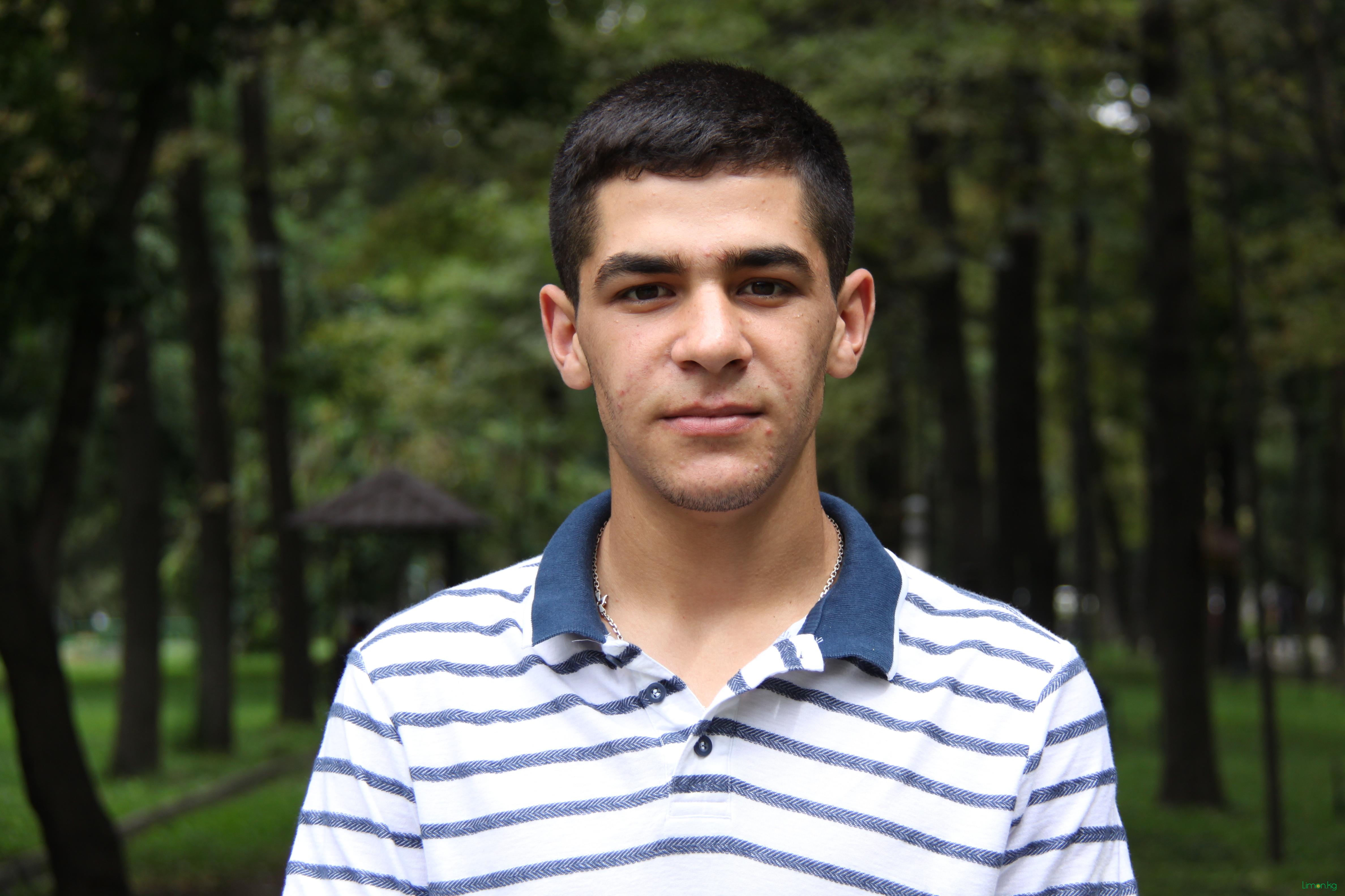 Амирхан Джалил заде, 20, студент