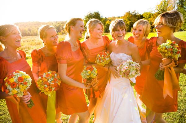 Платья осень на свадьбу