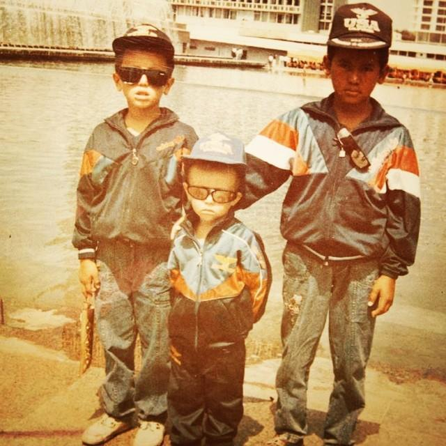 С братьями в Ташкенте 90-е