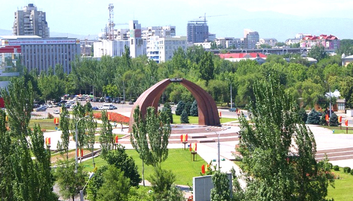 Озеленение Бишкека