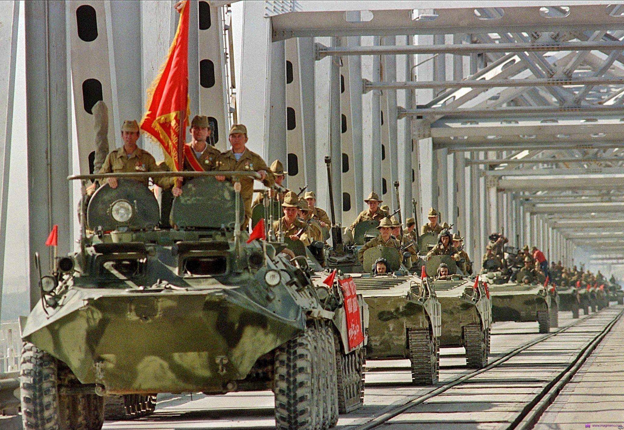 Вывод войск 14 февраля 1989 года на аэродроме кабул уже полностью хозяйничали