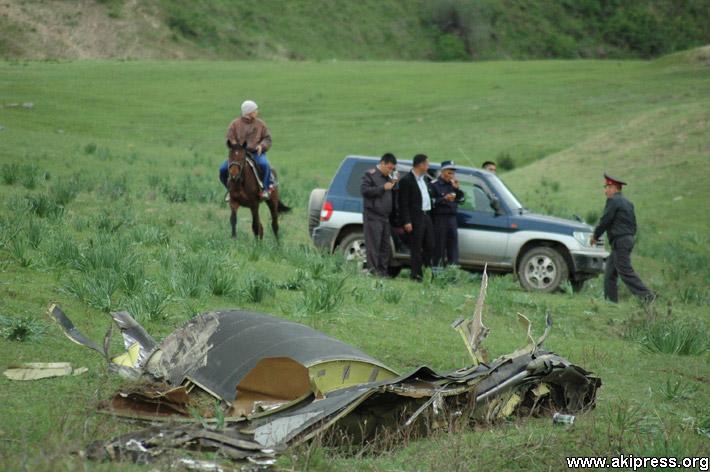 Крушение американского самолета в Кыргызстане (1)