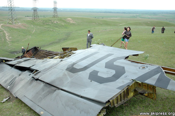 Крушение американского самолета в Кыргызстане (21)