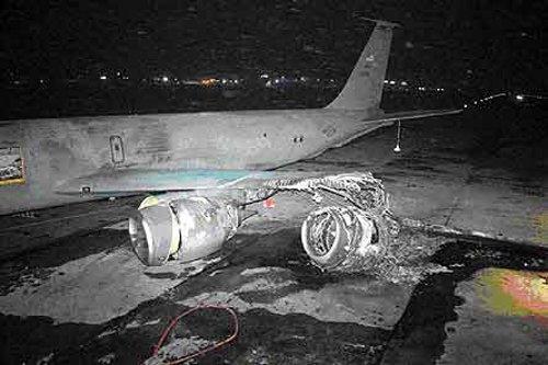 Столкнулись пассажирский Ту-154 и самолет ВВС США KC-135