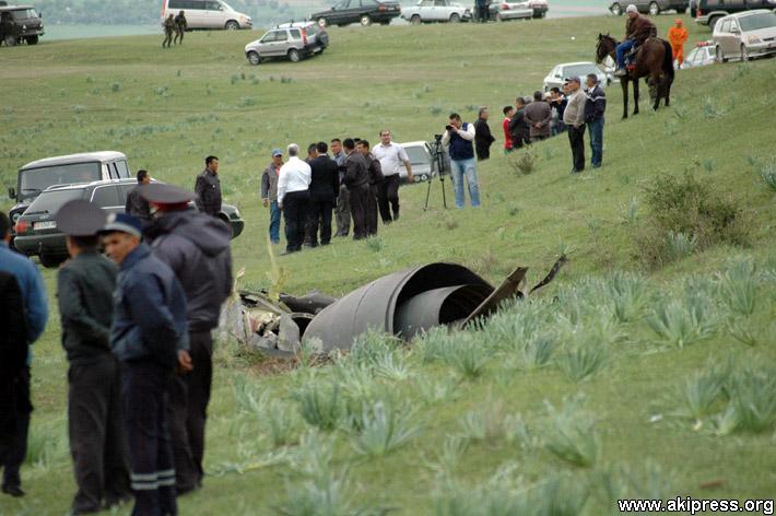 Крушение американского самолета в Кыргызстане (3)