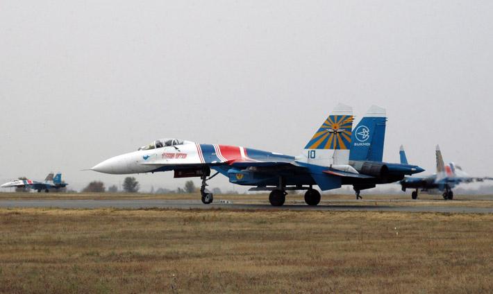 Русские витязи в Канте. Фото АКИpress (1)