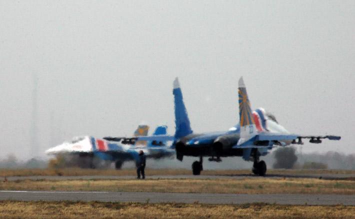 Русские витязи в Канте. Фото АКИpress (2)