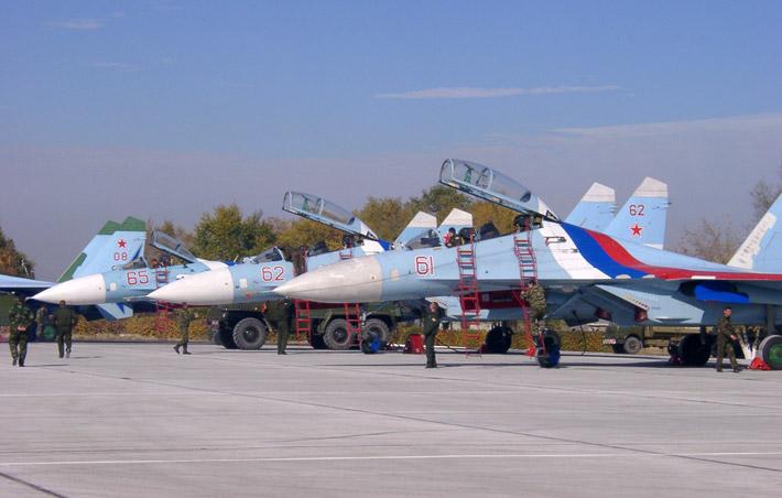 Открытие авиабазы в Канте 2003 (14)