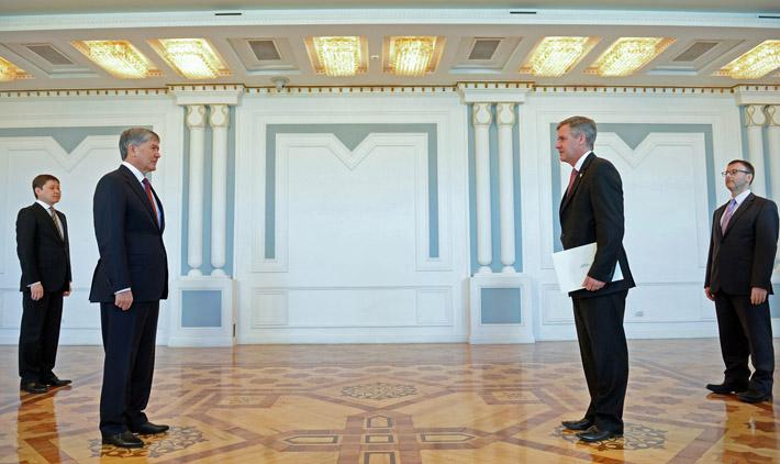 Посол Австралии в Кыргызстане Пол Эндрю Майлер