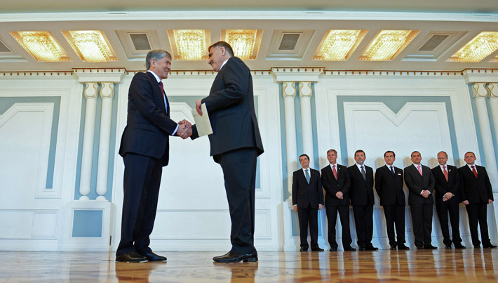 Посол Палестины в Кыргызстане Мохаммед Абдулла Таршахани