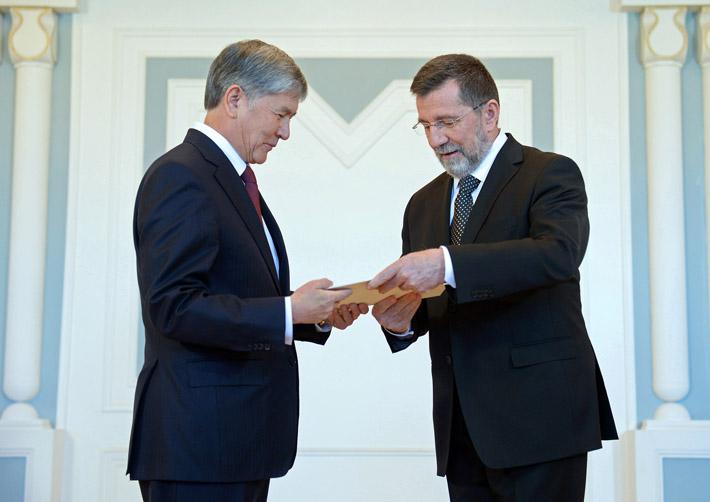 Посол Сербии в Кыргызстане Словнко Терзич