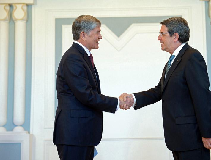 Посол Португалии в Кыргызстане Марио Годиньо де Матуш