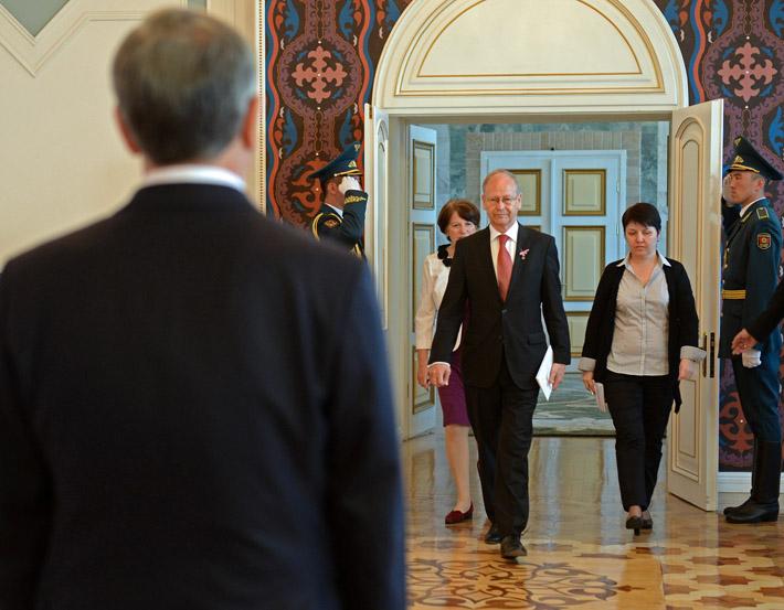 Посол Нидерландов в Кыргызстане Хенри Юбер Дриссер