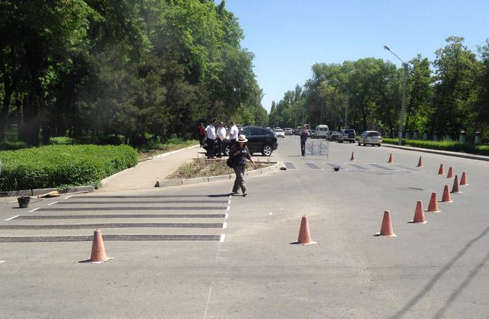 Бишкек - дорожная разметка (9)
