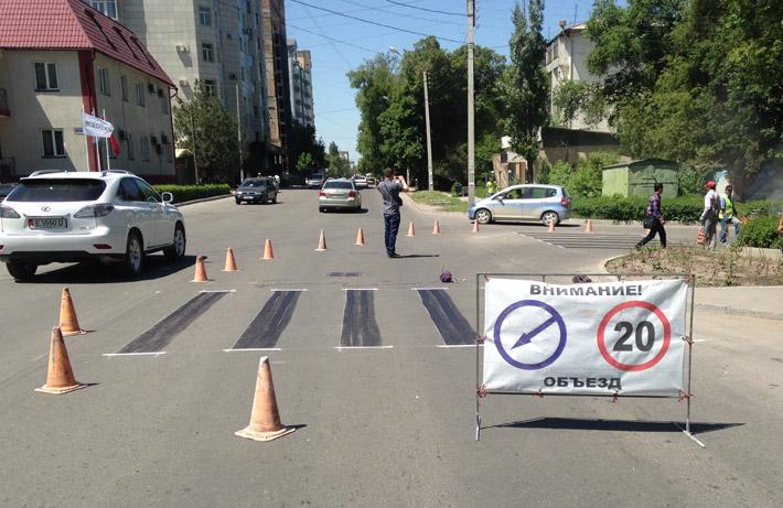 Бишкек - дорожная разметка (8)